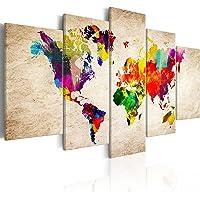 murando k-C-0083-b-m Mappa del Mondo Carta Continente