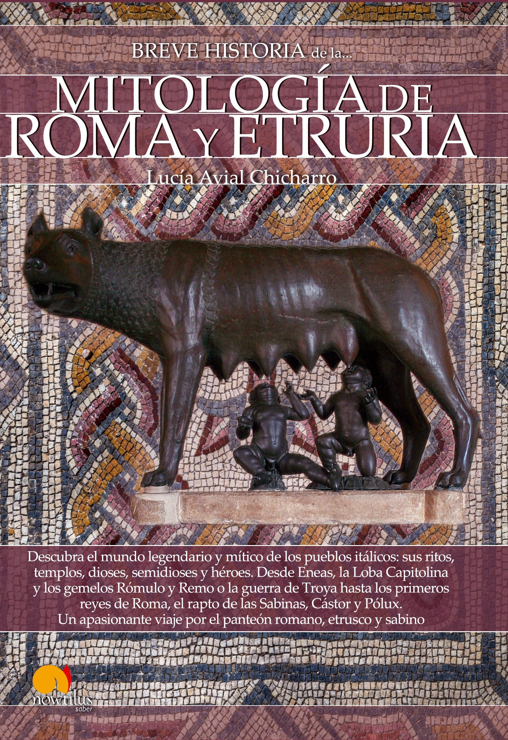 Breve historia de la Mitología de Roma y Etruria: Amazon.es: Avial Chicharro, Lucía: Libros