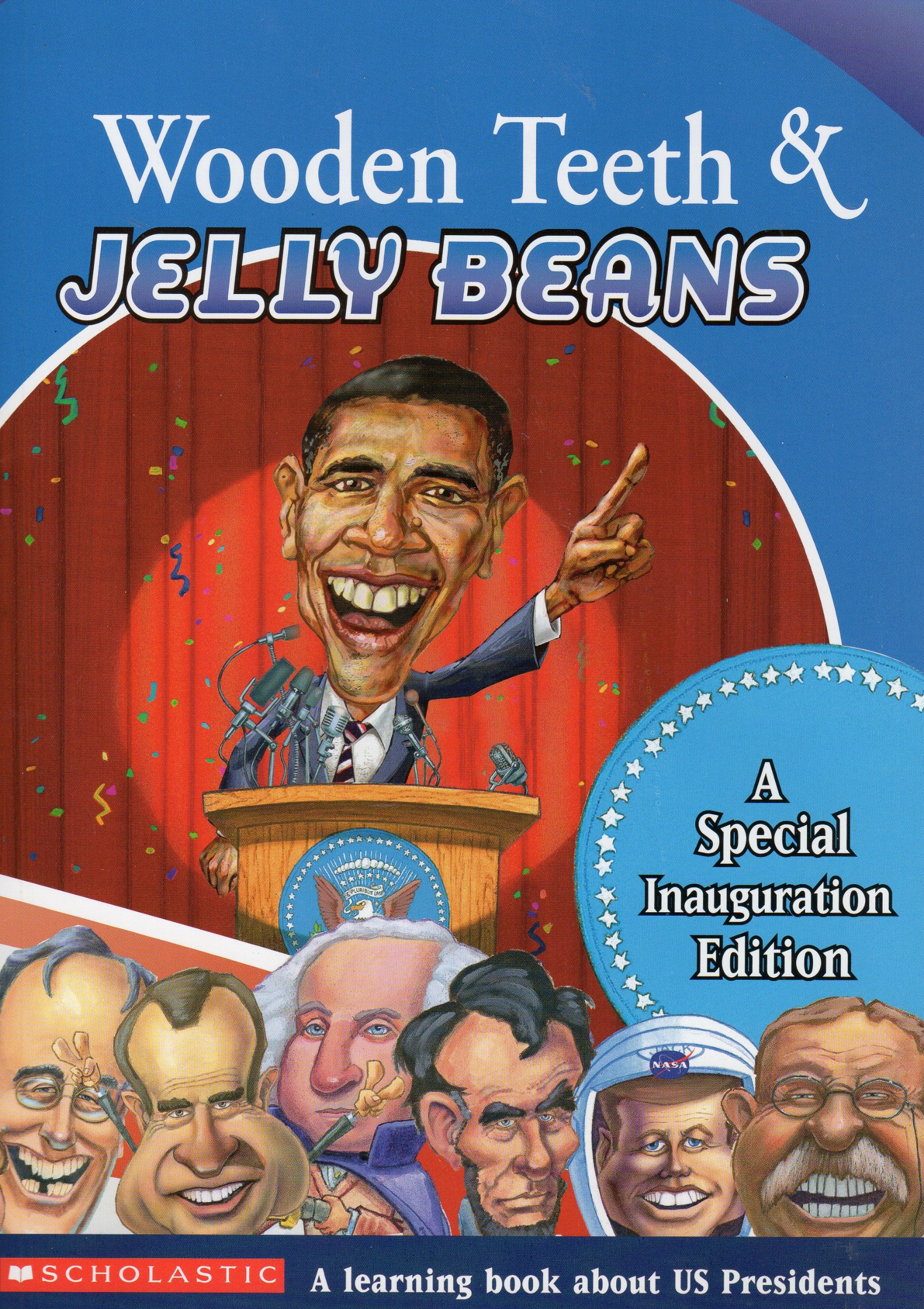 Wooden Teeth Jelly Beans A Special Inauguration Edition Ray