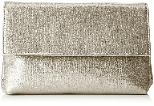 MENBUR - Abetone, Carteras de mano Mujer, Gold, 5x14x22 cm (B x