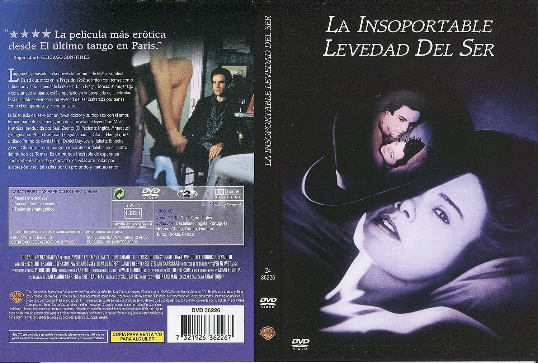 La Insoportable Levedad Del Ser [DVD]: Amazon.es: Daniel Day-Lewis ...