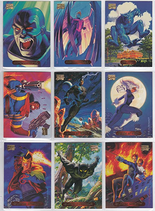 3d91882f9ce Amazon.com  Fleer Marvel Masterpieces 1994 Brothers Hildebrandt Series  Complete 140 Card Base Set of Trading Cards  Toys   Games