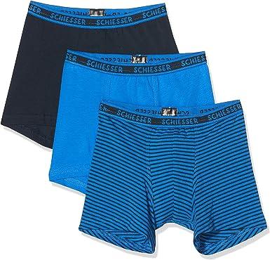 Schiesser Pantalones Cortos (Pack de 3) para Niños: Amazon.es: Ropa y accesorios