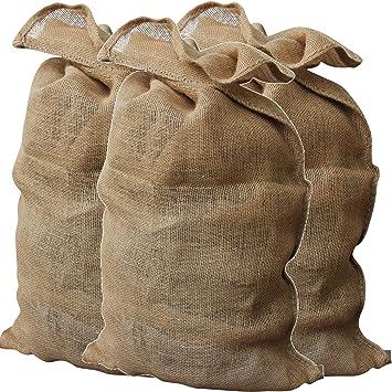 dernière vente meilleures baskets divers styles GardenMate Lot de 3 Sacs en Toile de Jute 340g/m2 Premium 135x65cm