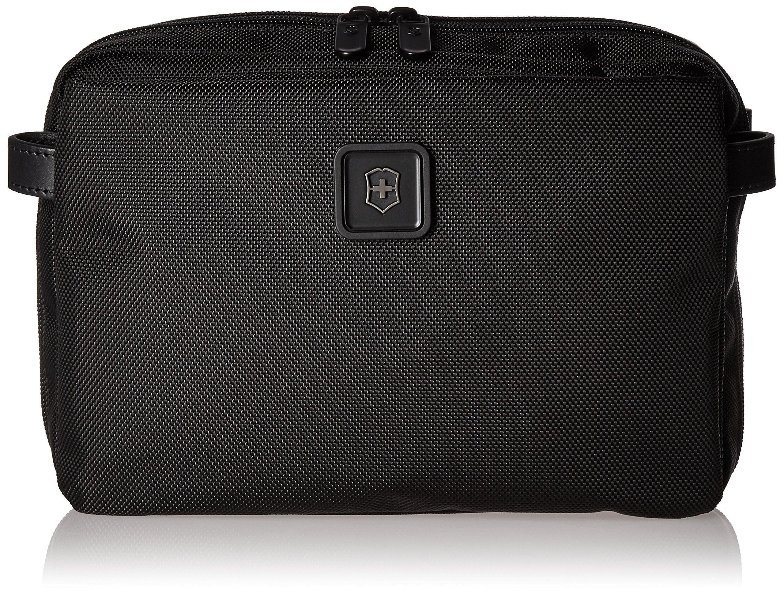 Victorinox Lexicon 2.0 Parcel Zip-Around Toiletry Kit, Black by Victorinox