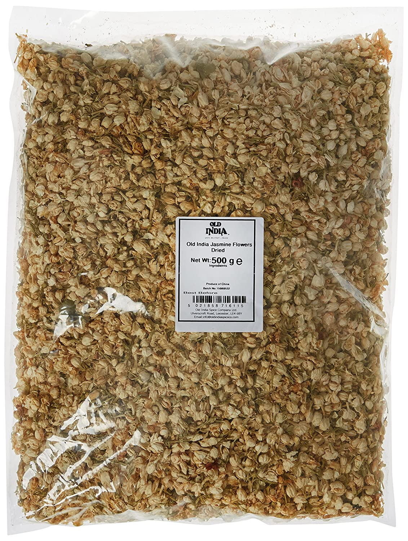 Old India Jasmine Flowers Dried 500 G Amazon Grocery