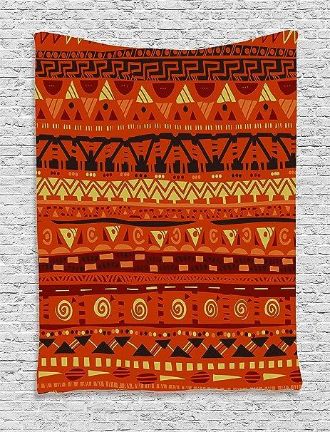 25c00bb180840 Amazon.com  Ambesonne Tribal Tapestry