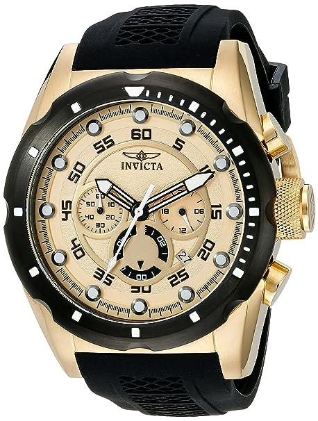 Invitcta Men's Speedway Gold W...