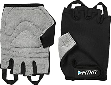 Fitkit Weight Lifting Gloves (Pair) Exercise & Fitness Gloves at amazon
