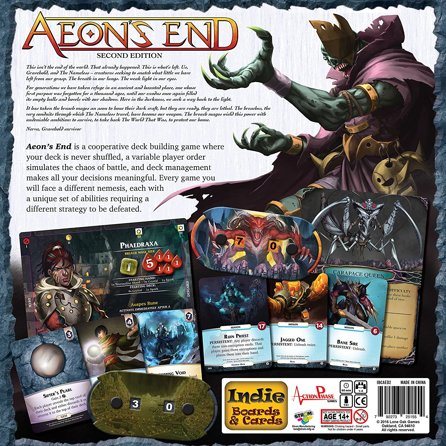 amazon com aeons end 2nd edition toys games