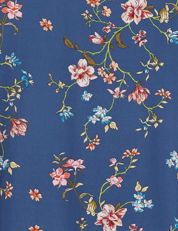 Endast Onlclaire blus för kvinnor Blue (Dark Denimempowered Flower)