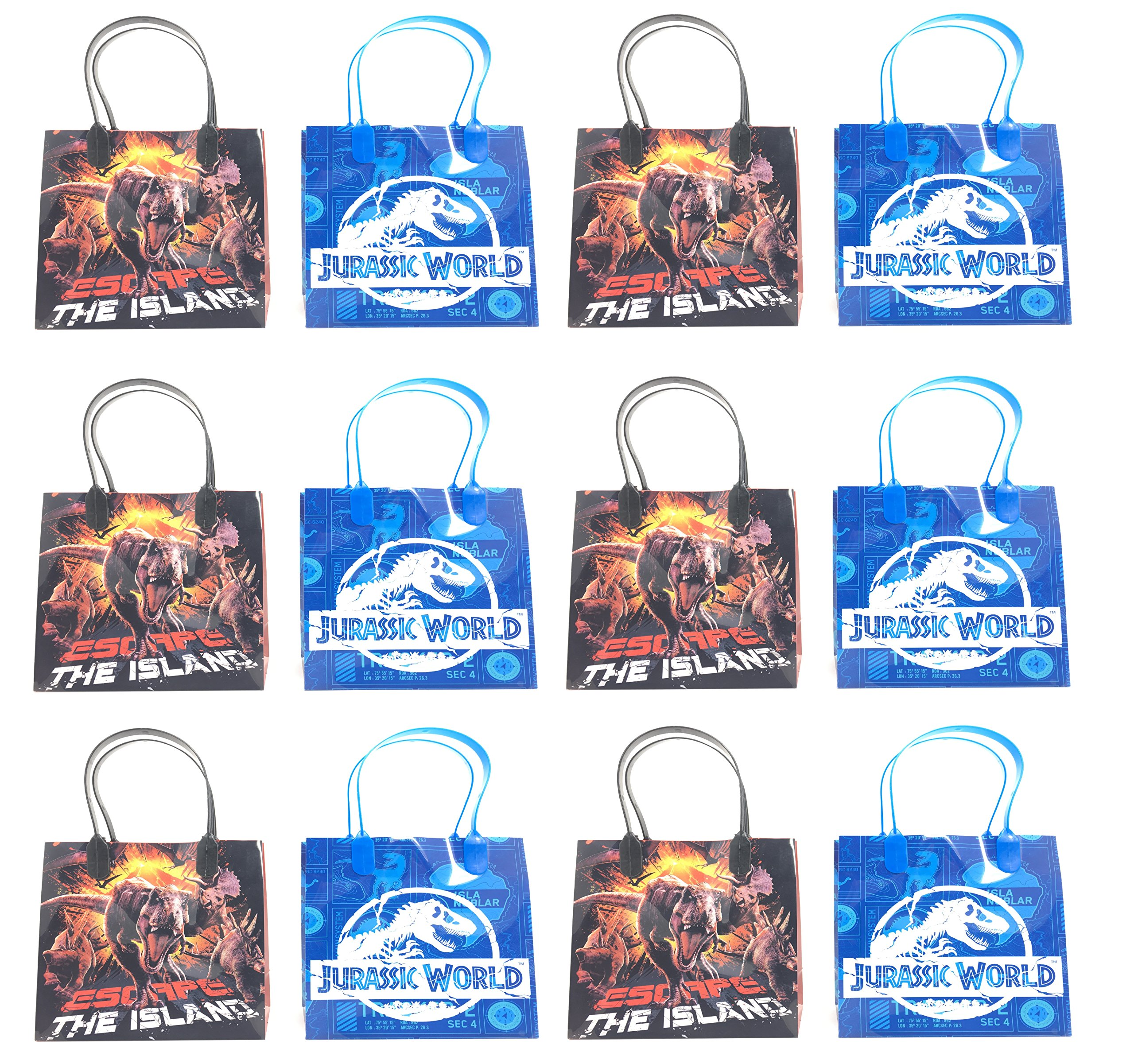 12pc Jurassic World''THE ISLAND'' Party Goodie Bags Party Favor Bag Gift Bags … by Jurassic World