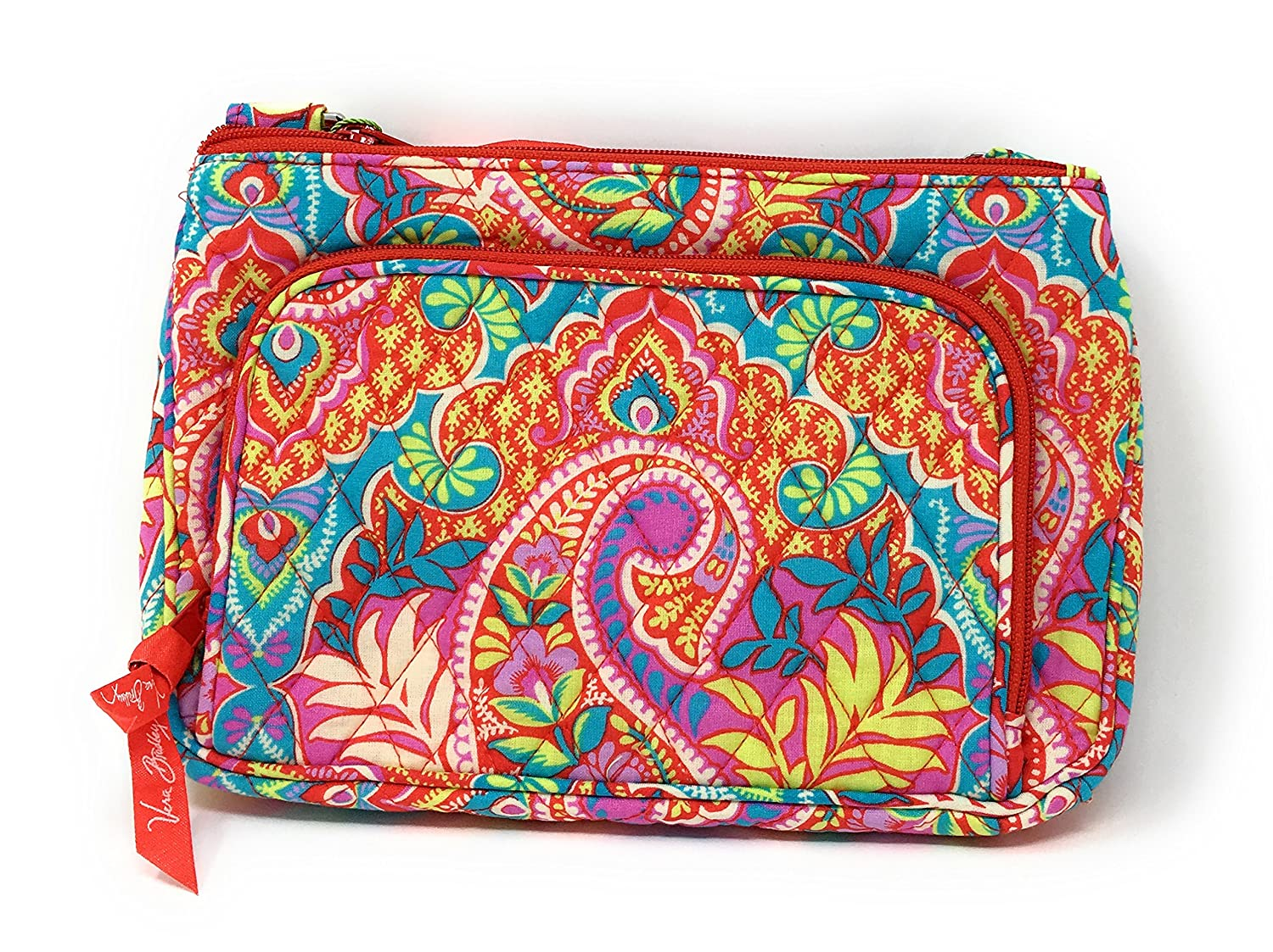 Amazon.com  Vera Bradley Little Hipster in Paisley in Paradise 14543-379   Shoes 3e18812ea6688