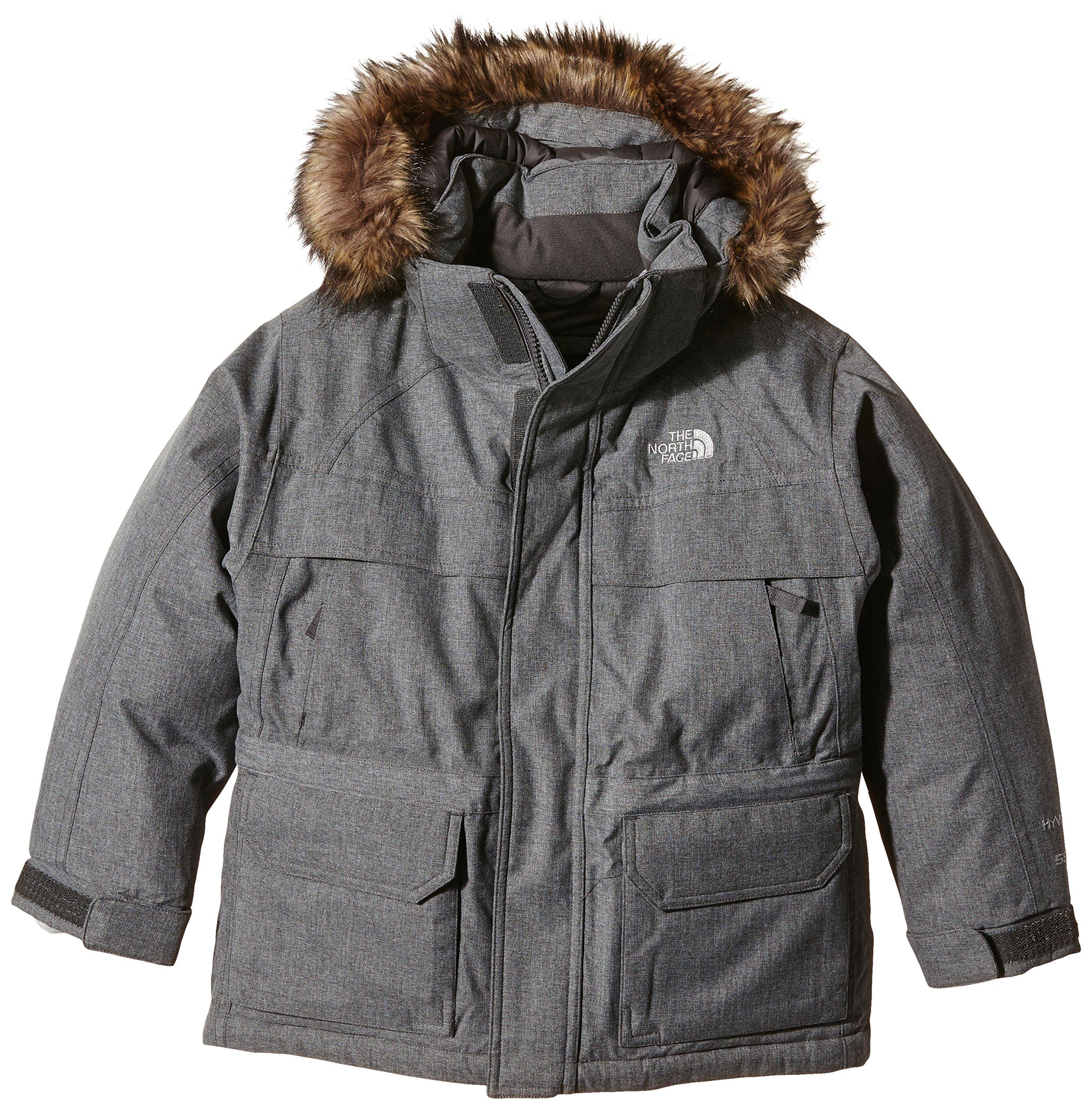 The North Face Kids Boy's McMurdo Down Parka (Little Kids/Big Kids) Charcoal Grey Heather XL (18-20 Big Kids)