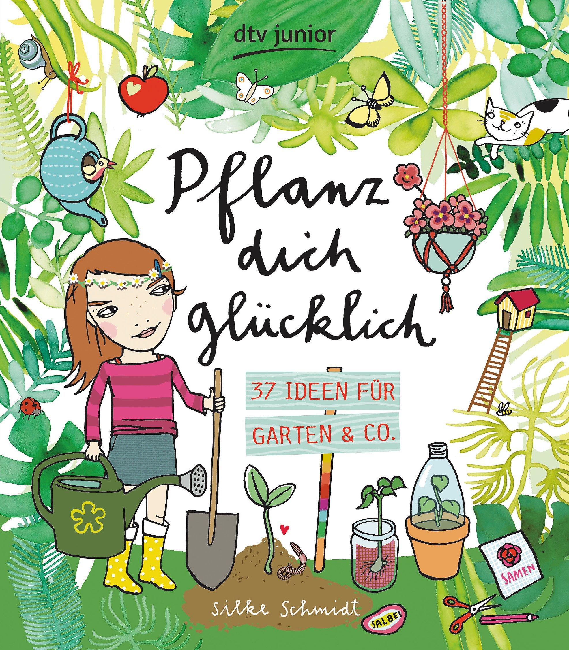 Pflanz Dich Glücklich 37 Ideen Für Garten U0026 Co.   Livros Na Amazon Brasil   9783423717731