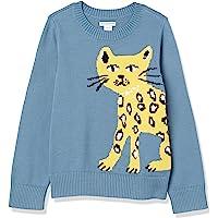 Amazon Essentials Suéter de Cuello Redondo para Niñas Pullover-Sweaters Niñas