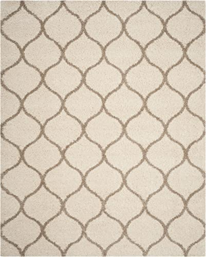 Safavieh Hudson Shag Collection SGH280D Moroccan Ogee 2-inch Thick Area Rug