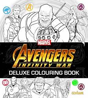 Marvel Avengers Infinity War Coloring Book Great Activity Book For