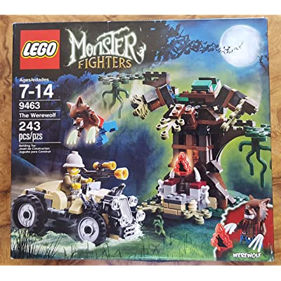 LEGO Monster Fighters 9463 The Werewolf: Toys & Games