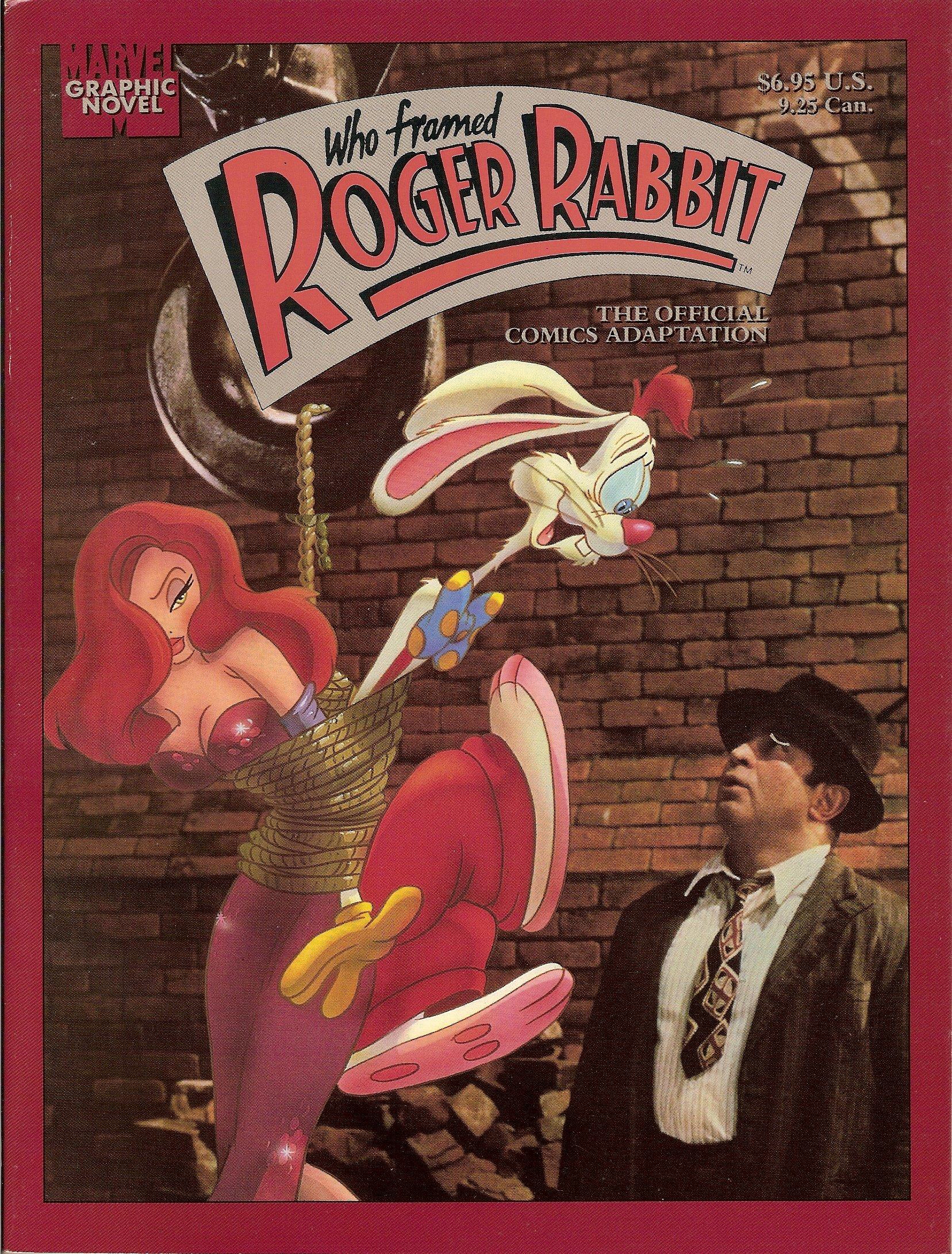 Amazon.com: Who framed Roger Rabbit? (Marvel graphic novel ...