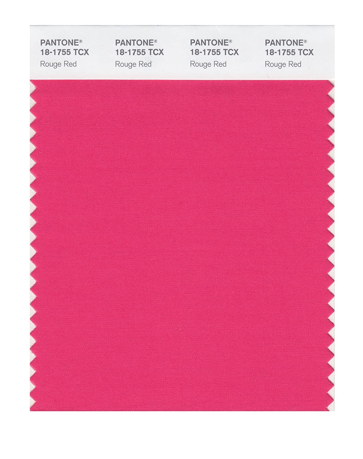 Pantone Smart 18 1663x Color Swatch Card Chinese Red House Paint