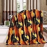 Holiday Season Throw Blanket, Soft & Plush, 50x60, Halloween