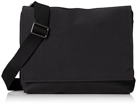 Amazon.com: Skagen Men's Eric Messenger Bag Nylon, Black, One Size ...