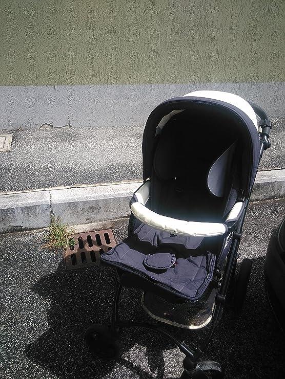 Bebecar trio completo de carrito, silla huevo accesorios (negro)-utilizado-crema: Amazon.es: Bricolaje y herramientas