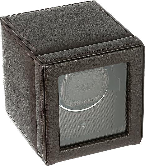 Amazon.com: Wolf Cub cargador de reloj con funda, Marrón ...