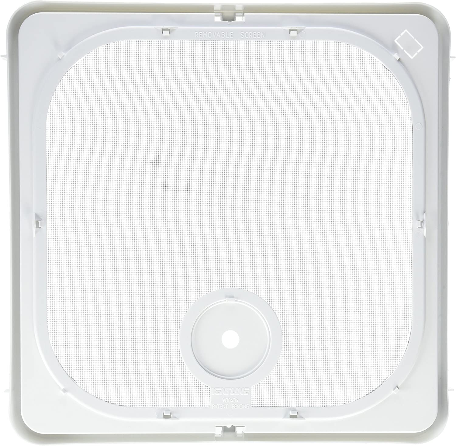 Ventline BVC0573-41 Ventadome Replacement Parts - Removable Polar White Screen
