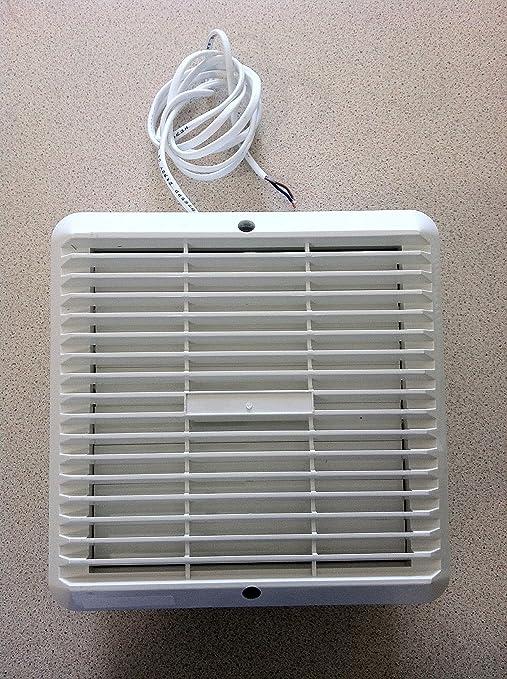 Ventilador Extractor Ventana Utilidad / Cocina - 6