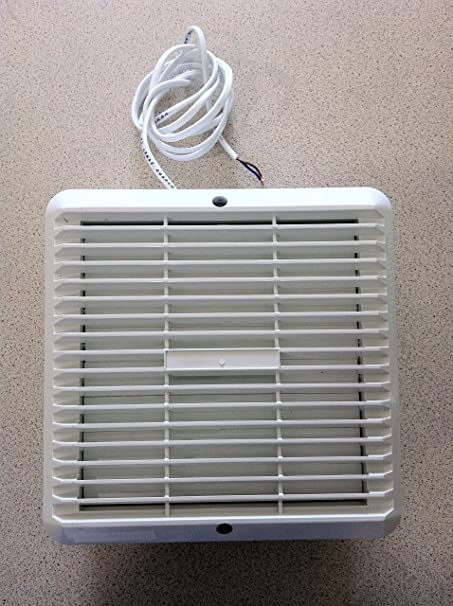 Kitchen / Utility Window Extractor Fan   6u0026quot; 150mm With Automatic  Shutter