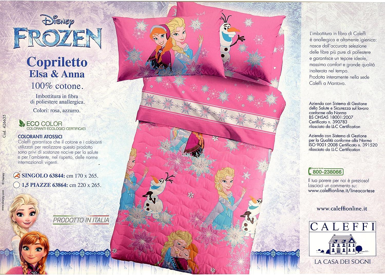 Caleffi Copriletto Frozen Singolo In Piquet Frozen Magic Copriletto Estivo Tessili Per La Casa Casa E Cucina Aaaid Org