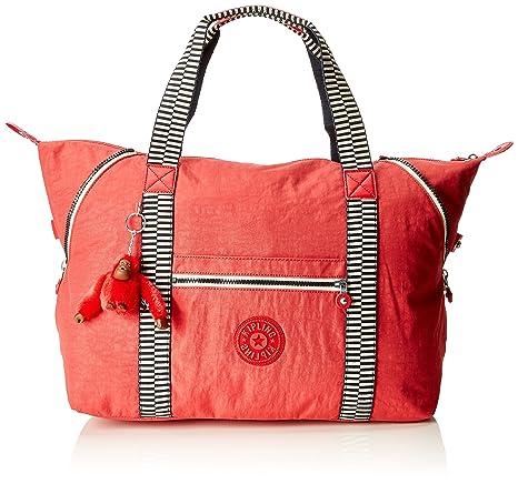 ef5b90a354 Kipling Art M, Medium Travel Tote, 58 cm, 26 liters, Red (Spicy Mix):  Amazon.co.uk: Luggage