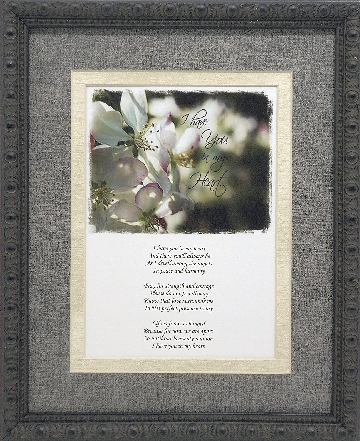 Amazon unique sympathy gift idea send to a funeral or amazon unique sympathy gift idea send to a funeral or residence of the grieving i have you in my heart memorial poem izmirmasajfo