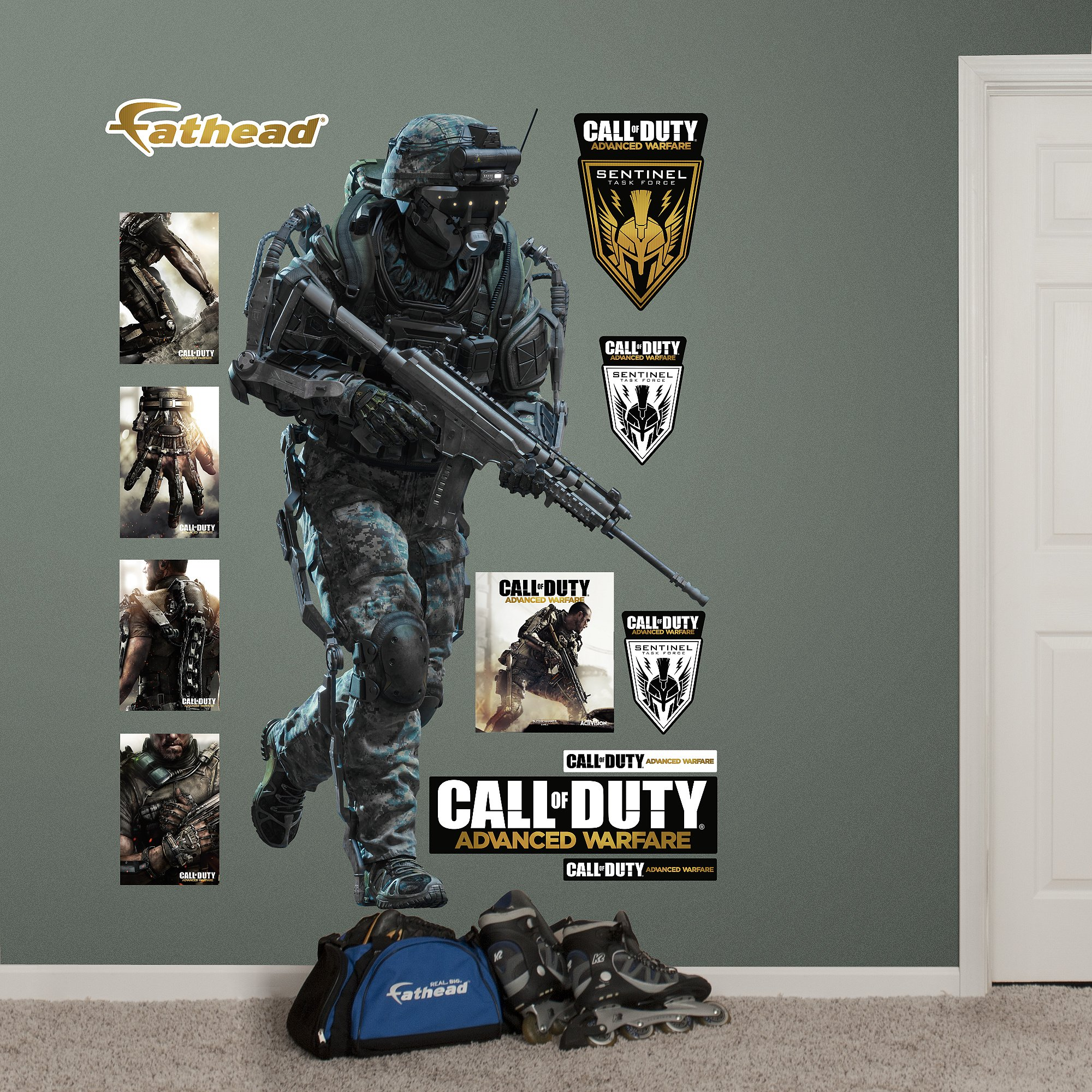 Fathead Marine Call of Duty: Advanced Warfare Vinyl Decals