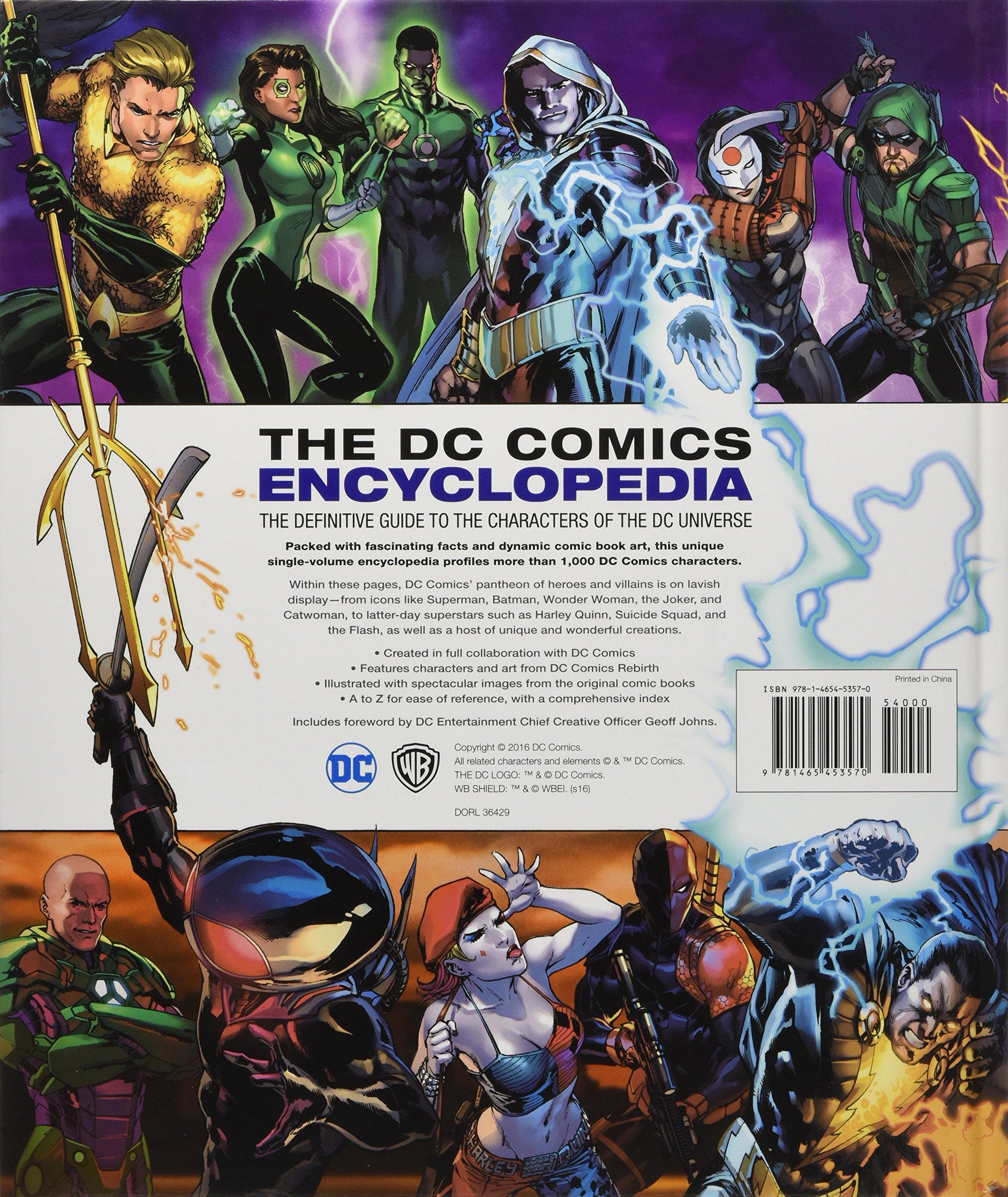 DC Comics Encyclopedia All-New Edition: Amazon.de: Matthew K ...