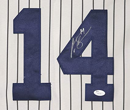 competitive price f7ea8 095a1 Curtis Granderson New York Yankees Signed Autographed White ...