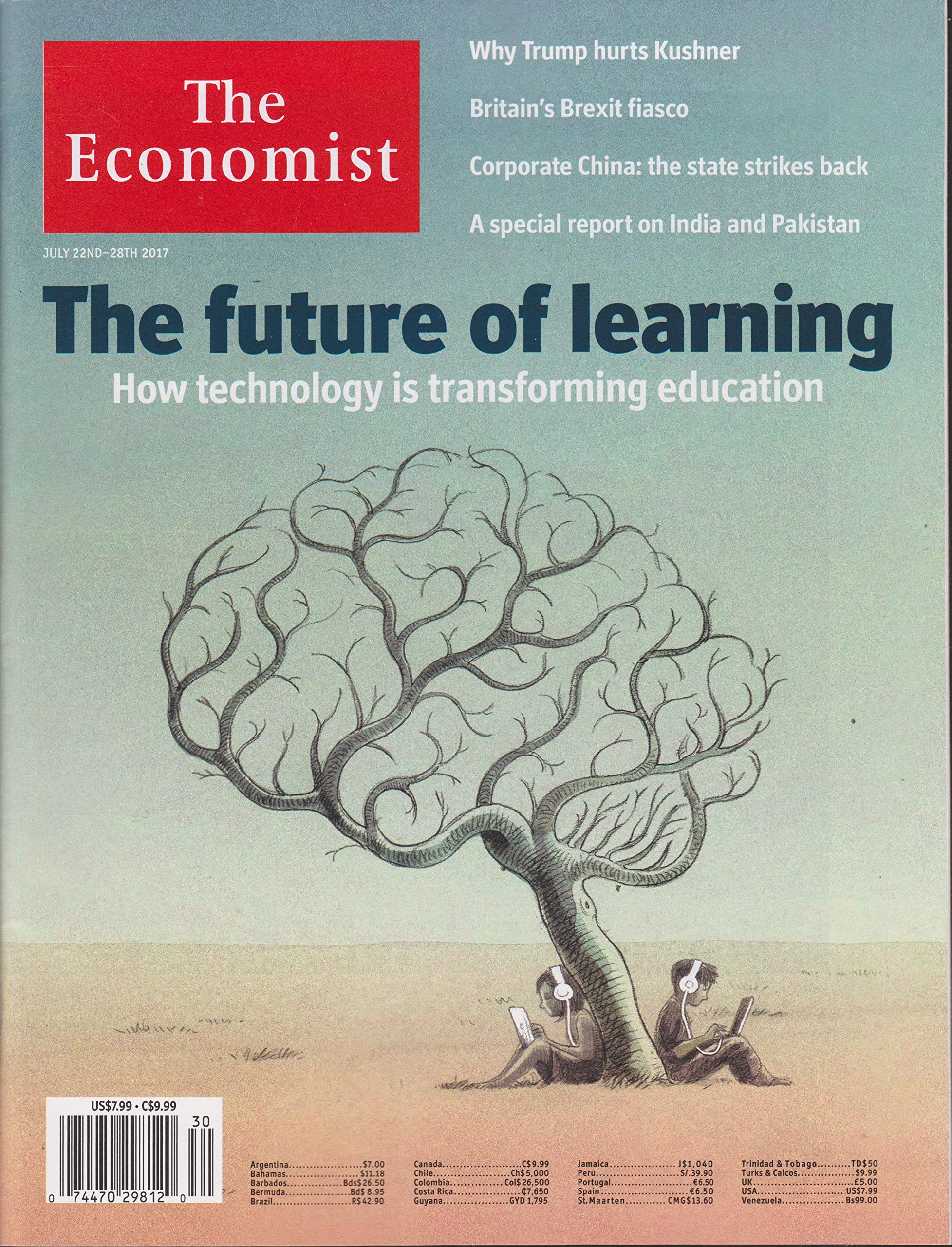 Download The Economist Magazine July 22-28 2017 The Future of Learning PDF