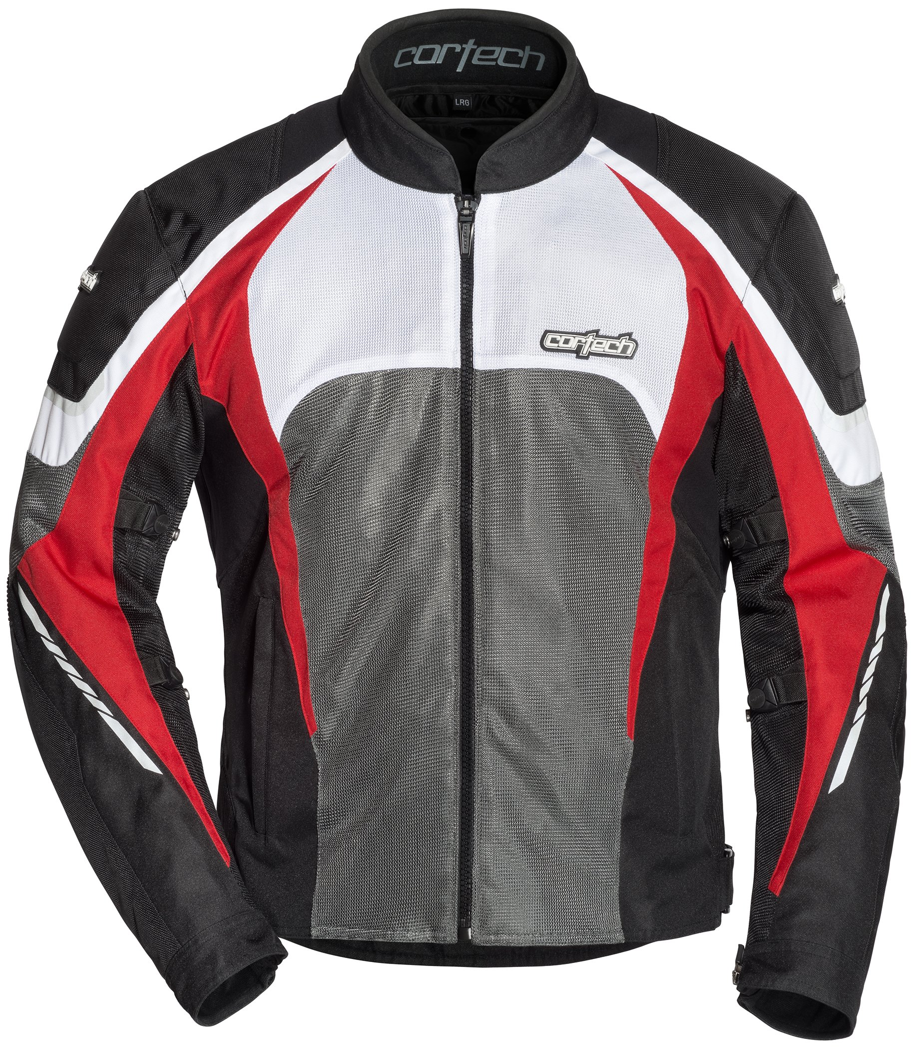 Cortech Men's GX-Sport Air 5.0 Jacket (Black/Red, X-Large), 1 Pack