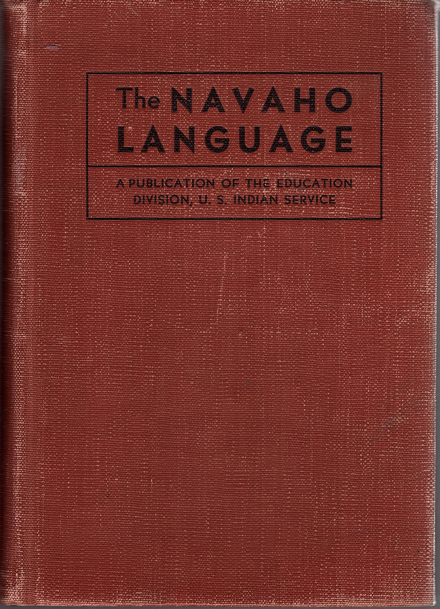 A vocabulary of the Navaho language