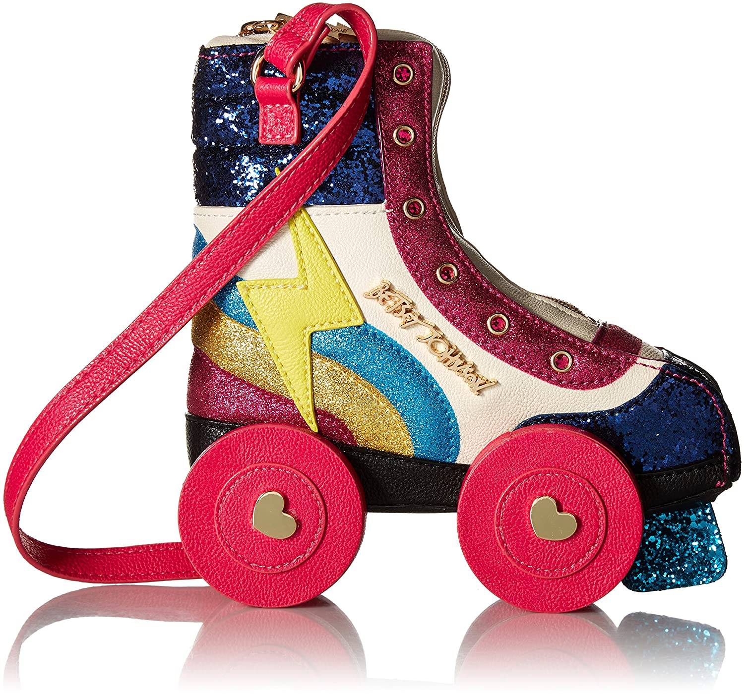 Betsey Johnson Kitsch Rollergirl Crossbody Bag by Betsey+Johnson