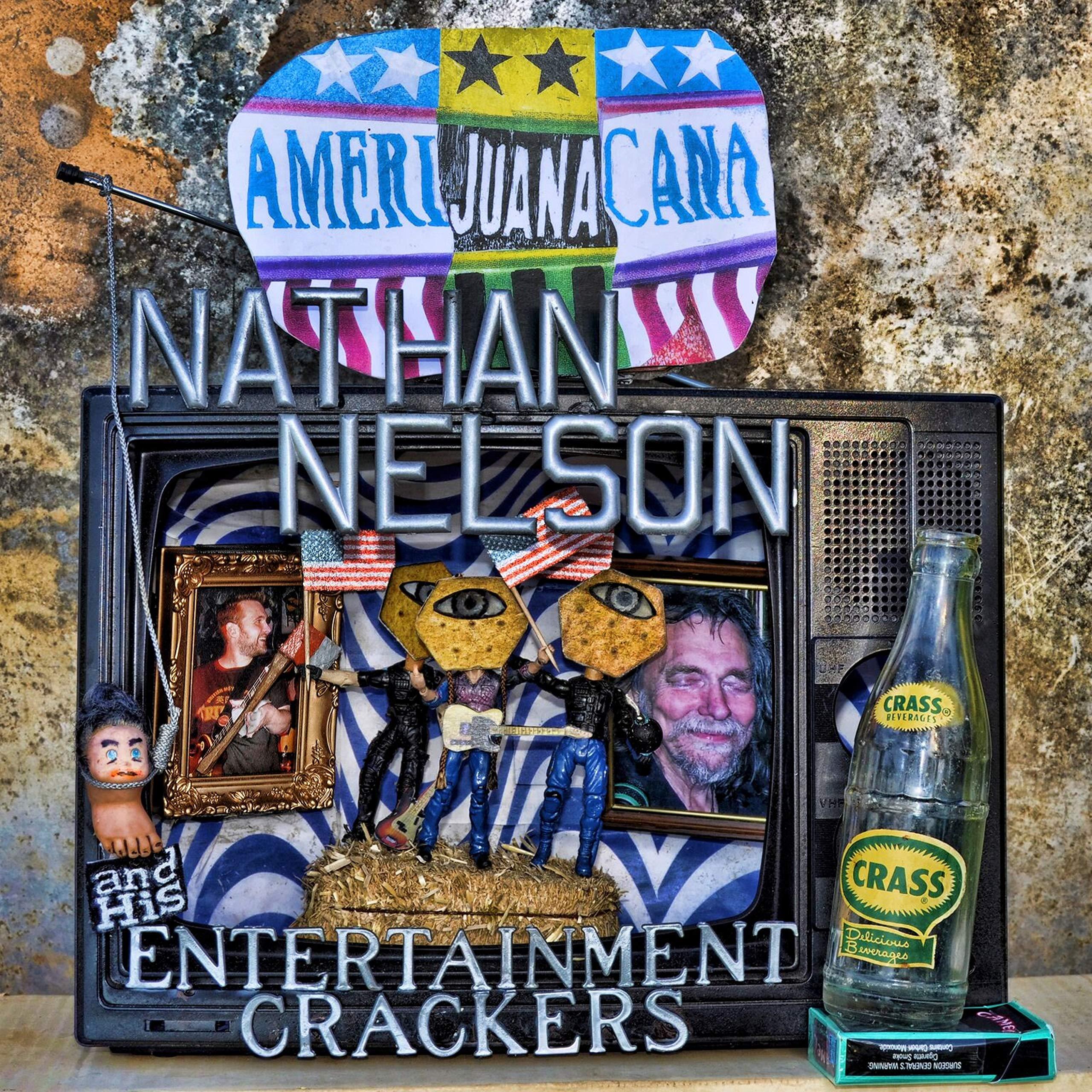 CD : Nathan Nelson - Amerijuanacana (CD)