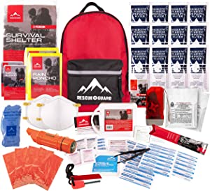 First My Family 4fkit All-in-one 4-person Premium Disaster Preparedness Survival Kit