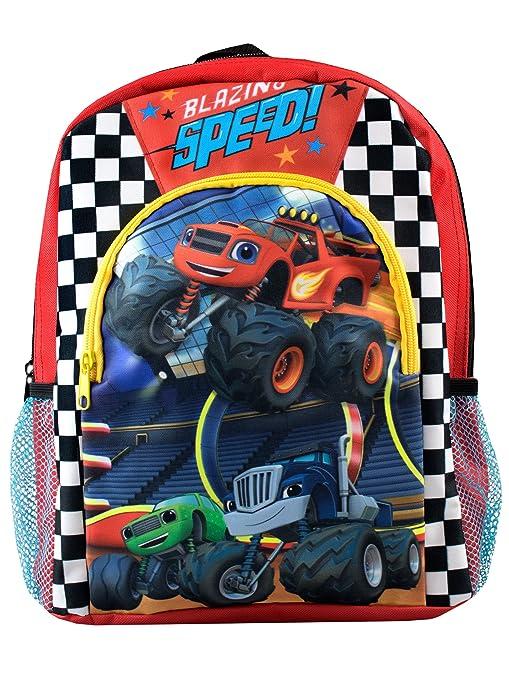 Blaze y los Monster Machines - Mochila para niños - Blaze and the Monster Machines