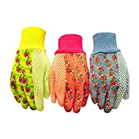 best gardening gloves. G \u0026 F 1852-3 Women Soft Jersey Garden Gloves, Work Best Gardening Gloves