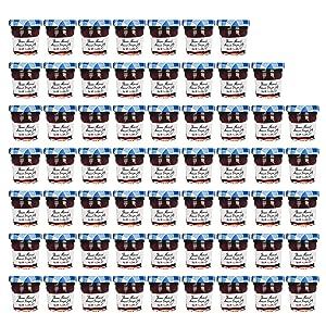 Bonne Maman Grape Jam Preserves - 60 pcs x 1 oz - Jelly Mini Jars