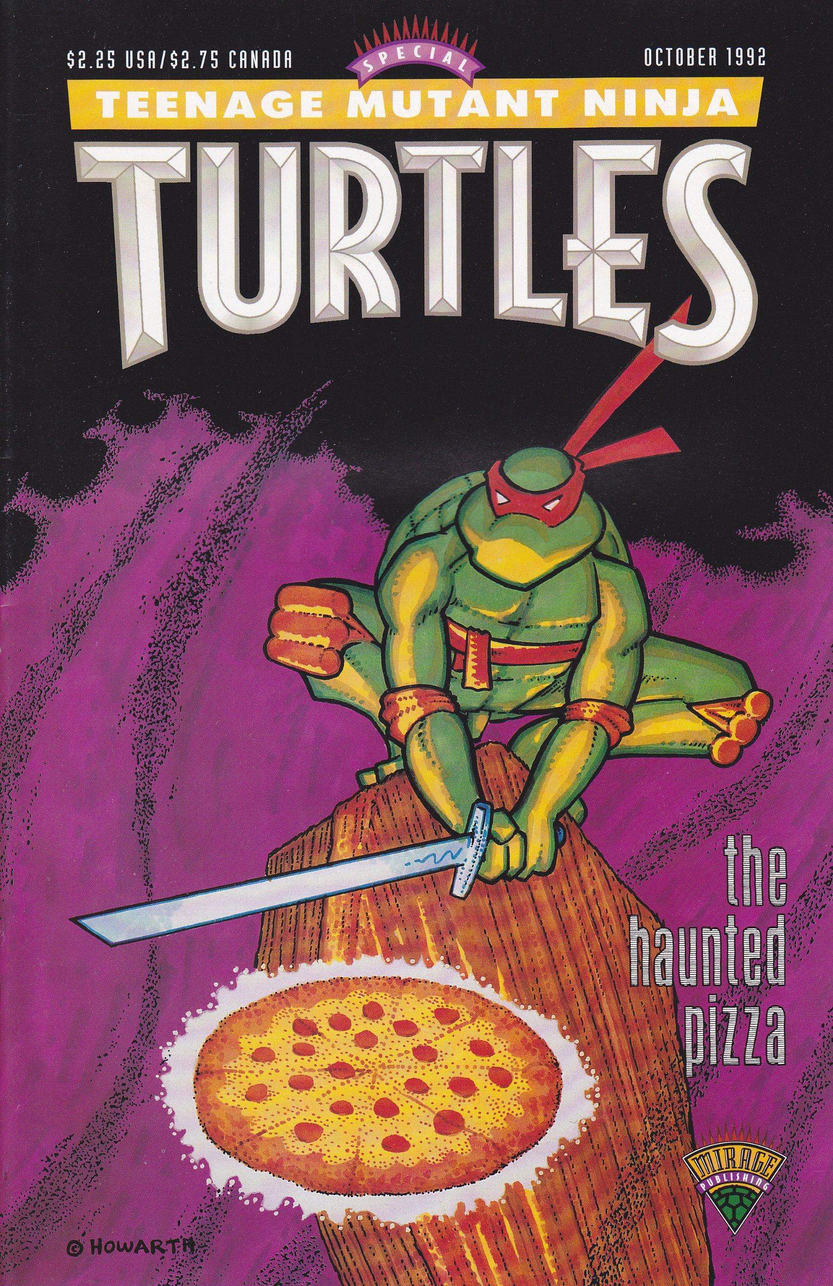 Teenage Mutant Ninja Turtles - The Haunted Pizza: Matt ...