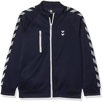 Hummel Joven Zipper – Junior V Grand Zip – Chaqueta de Manga Larga Azul –  Jersey 3113fb9fcb6b5
