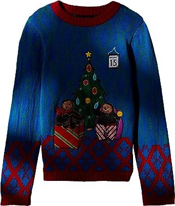 Blizzard Bay Boys//Youth Ugly Cat Christmas Sweater SIZE 6 BOYS